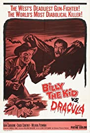 Billy the Kid Versus Dracula Poster