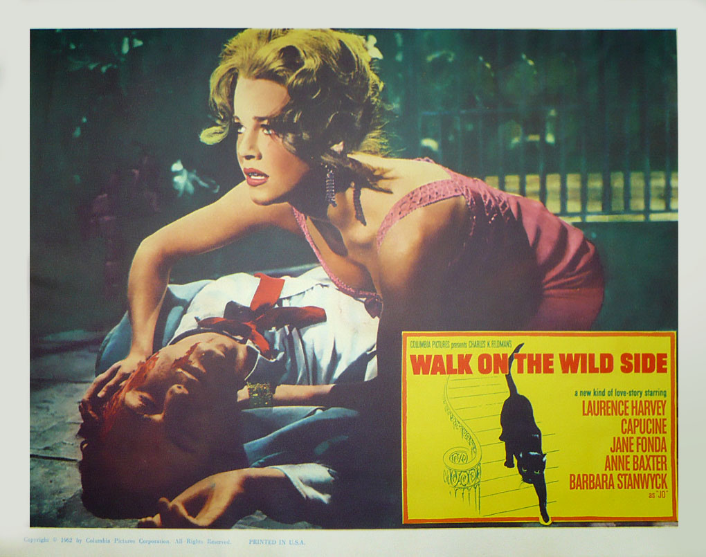Laurence Harvey in Walk on the Wild Side (1962)