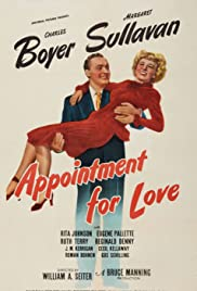 Appointment for Love Poster