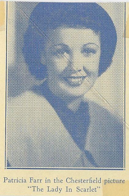 Patricia Farr in The Lady in Scarlet (1935)