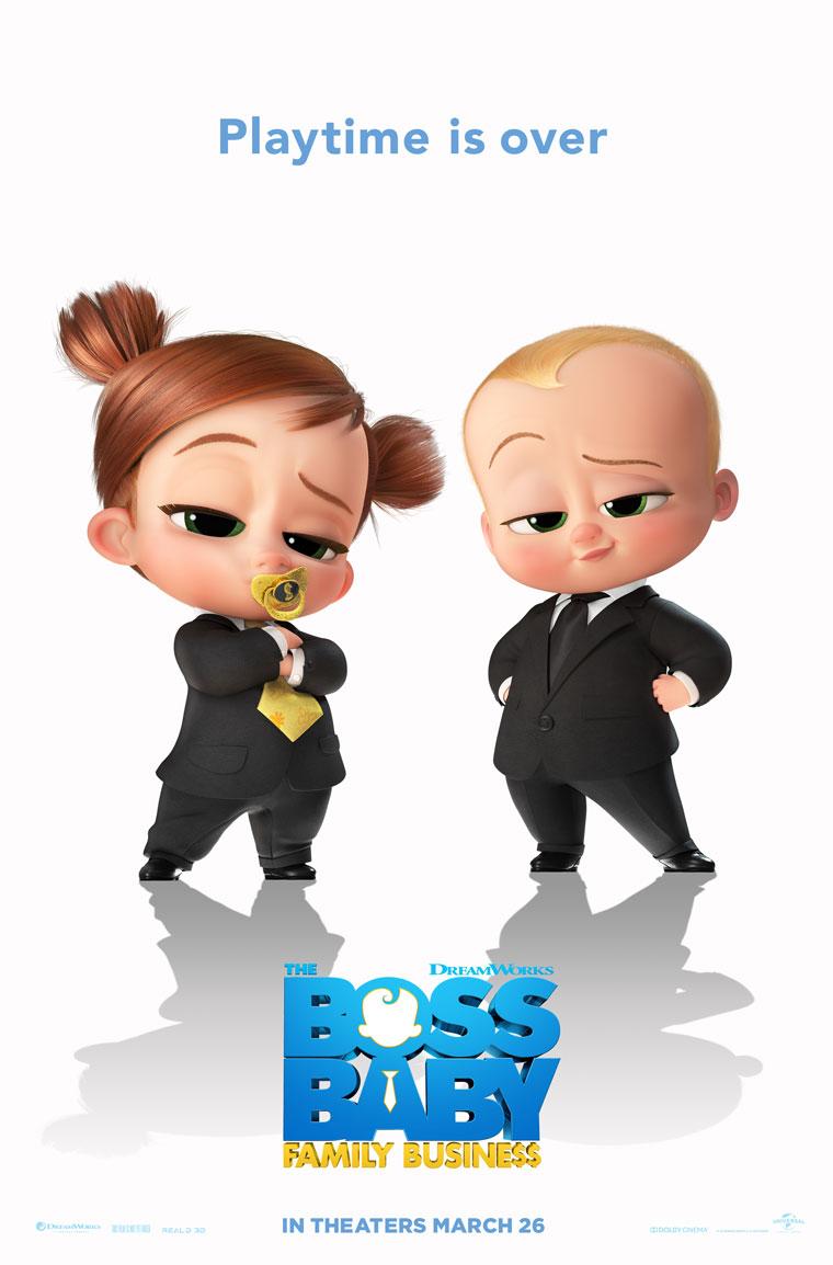 Phim Nhóc Trùm 2: Nối nghiệp gia đình - The Boss Baby 2: Family Business (2021)