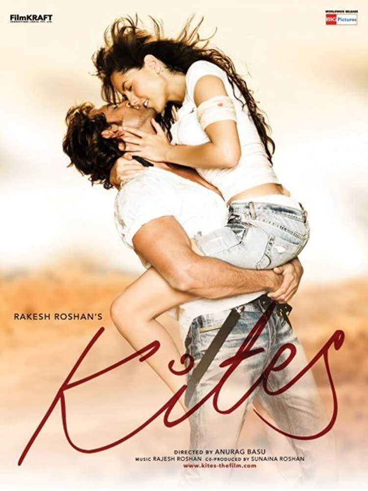 Hrithik Roshan and Bárbara Mori in Kites (2010)