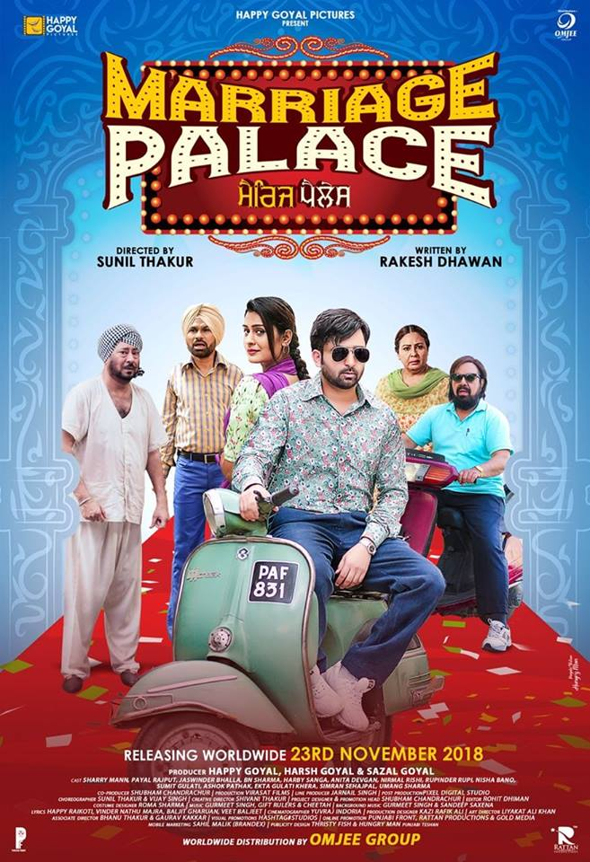 Marriage Palace 2018 Punjabi 720p HDRip 999MB ESubs