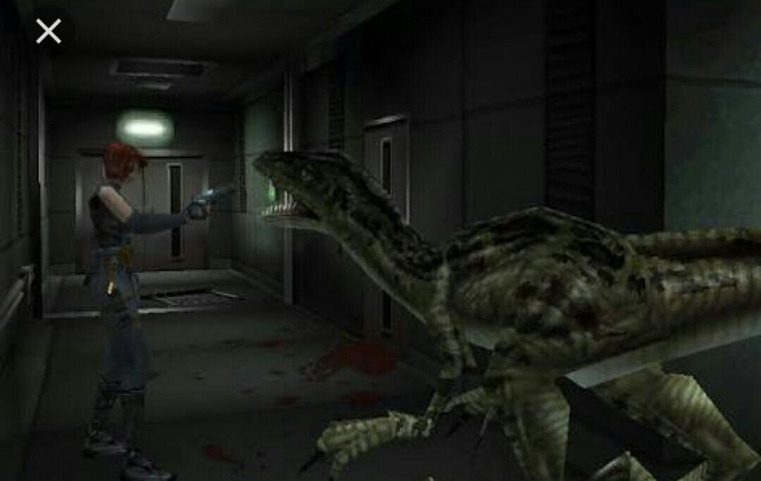 Resultado de imagem para Dino Crisis gameplay