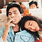 Andy Lau and Chien-Lien Wu in Tin joek yau ching (1990)
