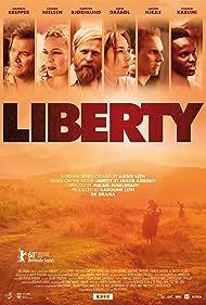 Connie Nielsen, Carsten Bjørnlund, Sofie Gråbøl, Magnus Krepper, Anton Nikolaj Hjejle Øberg, and Charlie Karumi in Liberty (2018)