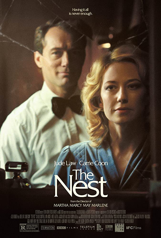 Jude Law and Carrie Coon in The Nest (2020)