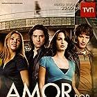 Fernanda Urrejola, Cristián Arriagada, Cristián Riquelme, and Mariana Derderián in Amor por accidente (2007)