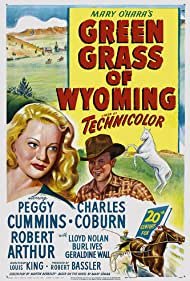 Robert Arthur and Peggy Cummins in Green Grass of Wyoming (1948)