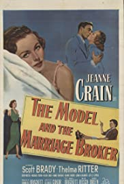 The Model and the Marriage Broker Poster