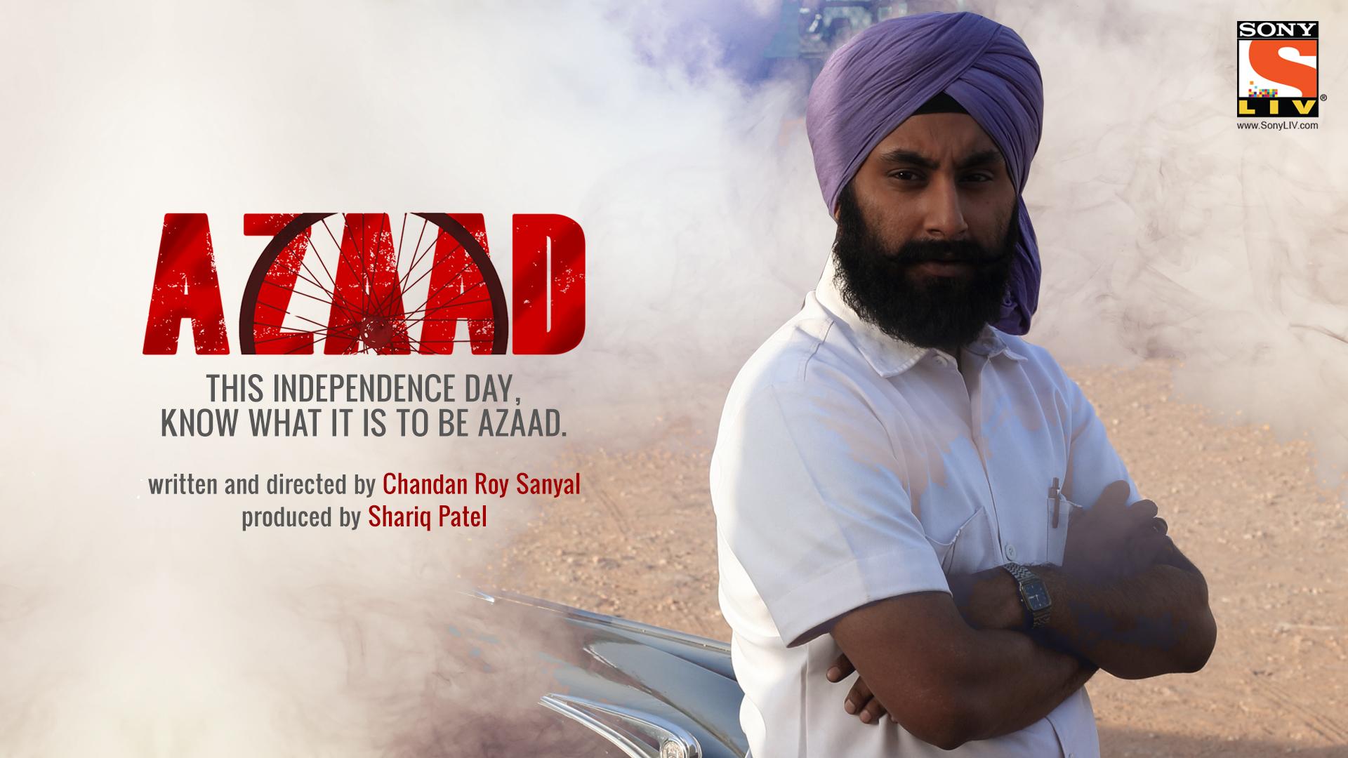 Inderpreet Singh in Azaad (2016)