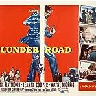 Charles J. Conrad, Jeanne Cooper, Don Garrett, Paul Harber, Nora Hayden, Wayne Morris, and Gene Raymond in Plunder Road (1957)