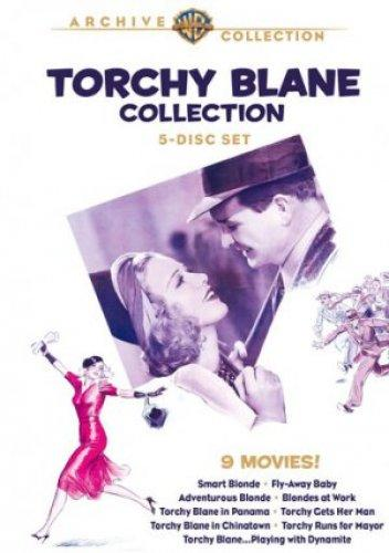 Glenda Farrell and Barton MacLane in Torchy Blane in Chinatown (1939)