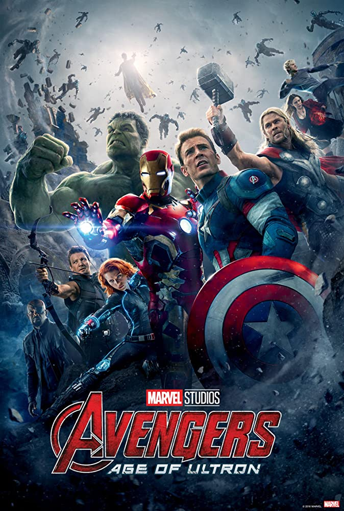 Avengers: Age of Ultron (2015) list of all marvel movies so far