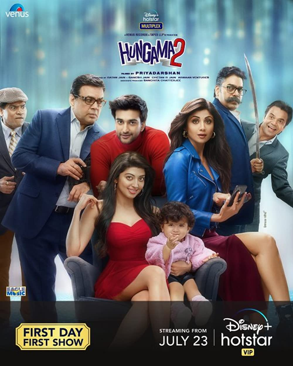 Hungama 2 2021 Hindi Movie 720p | 480p DSNP HDRip ESub 1.1GB | 500MB Download