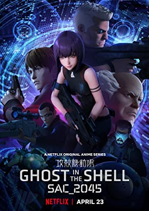 Download Ghost in the Shell SAC_2045 (2020) [Hindi + English] Dual Audio WebSeries 720p | 480p WebRip 250MB | 75MB Per Episode