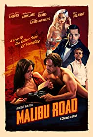 Robert W. Evans, Jessica Jade Andres, Michael Andricopoulos, Lillian Solange Beaudoin, and Montgomery Markland in Malibu Road (2021)