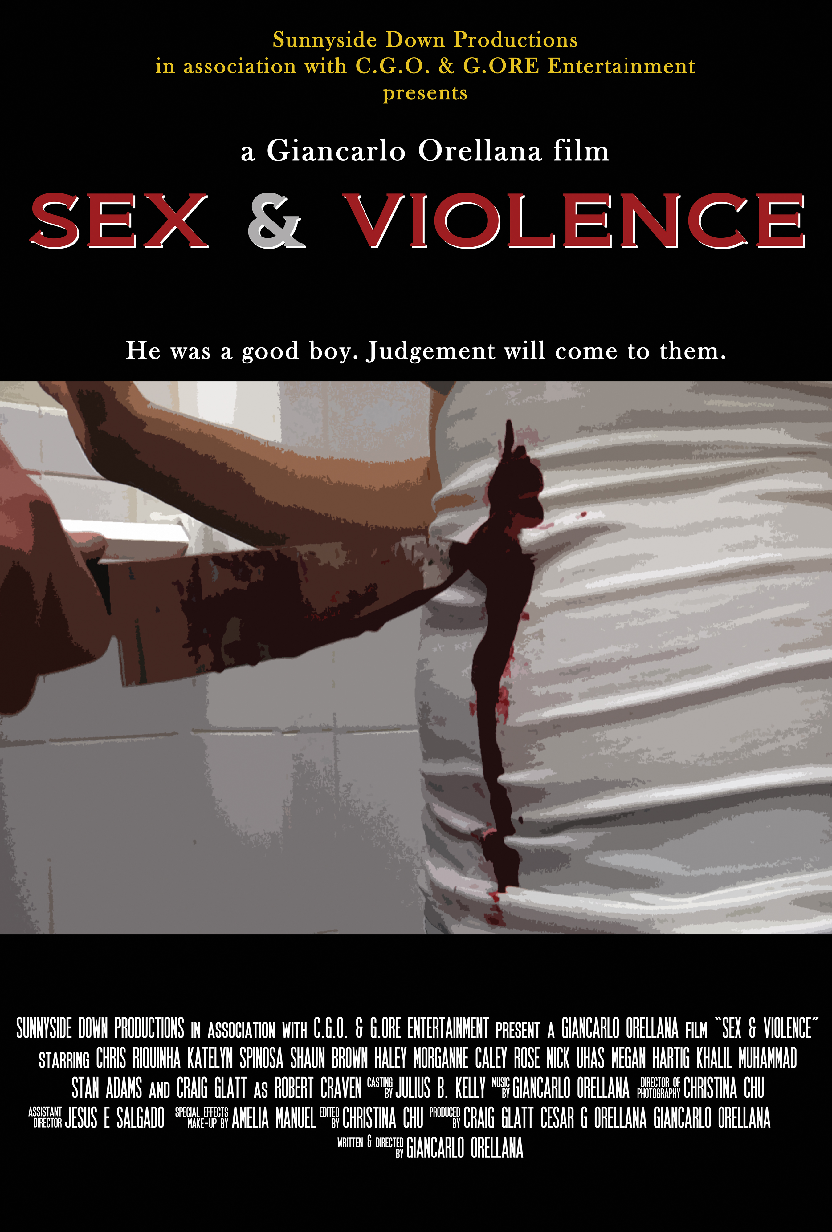Entertainment in media sex violence