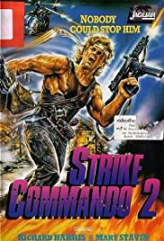 Strike Commando 2 Poster