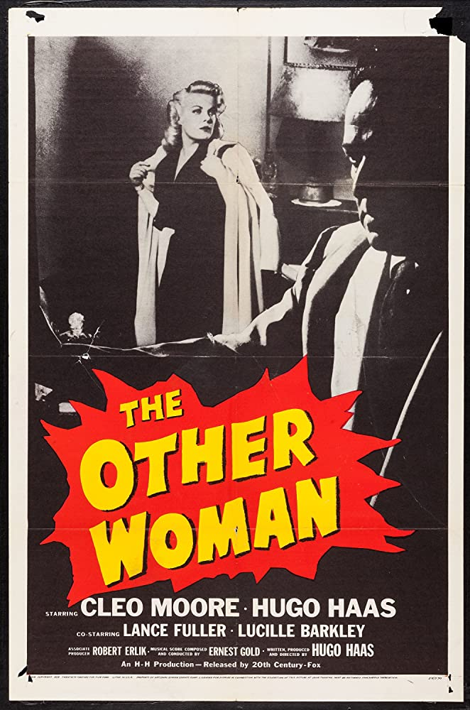 Hugo Haas and Cleo Moore in The Other Woman (1954)