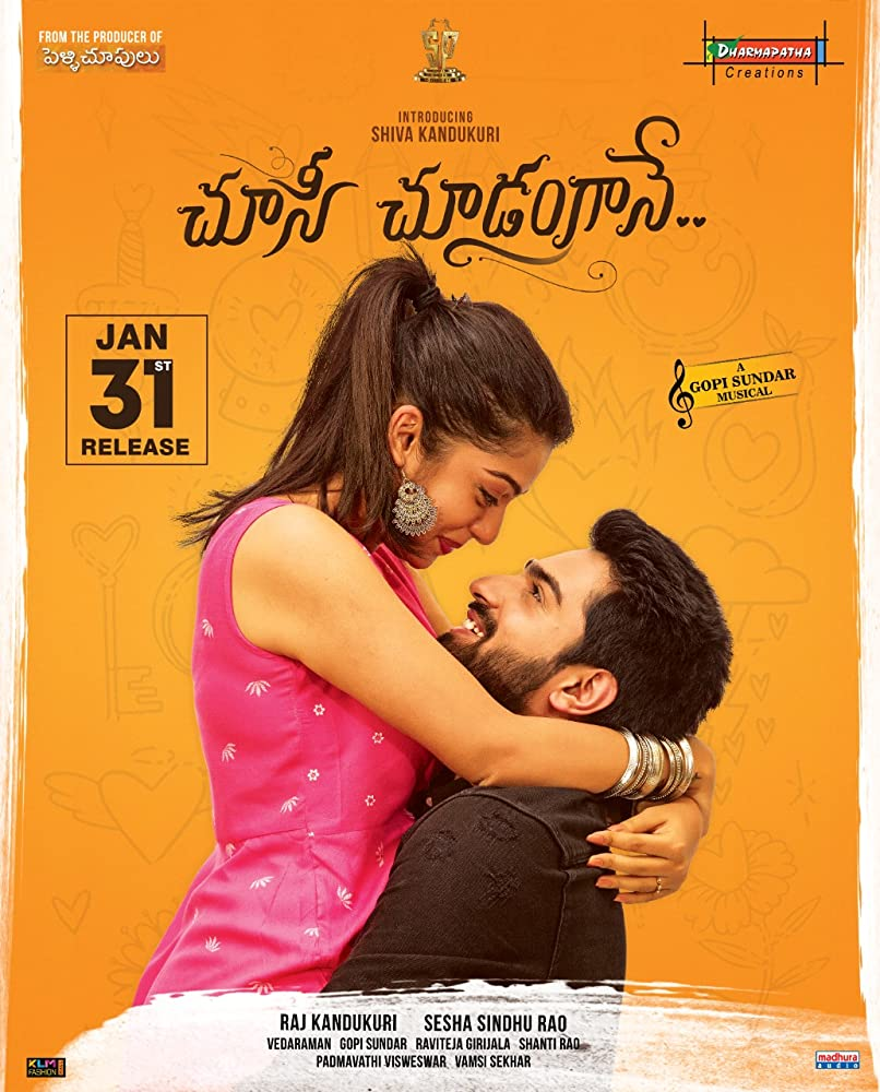 Choosi Choodangaane 2020 Telugu Movie 400MB WEB-DL ESub Download