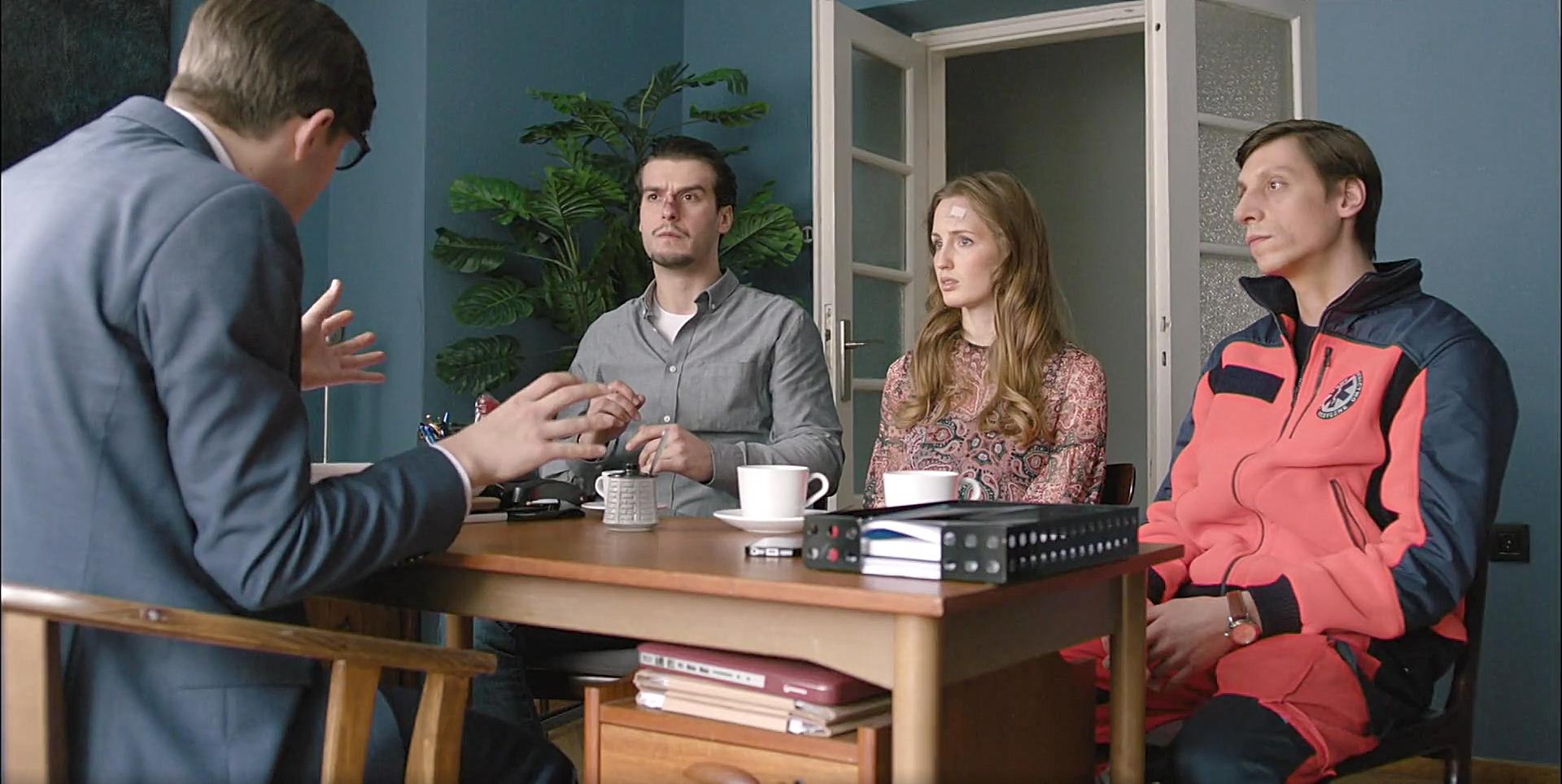 Klaudia Belcik, Eryk Kulm, and Szymon Nygard in Episode #12.9 (2020)