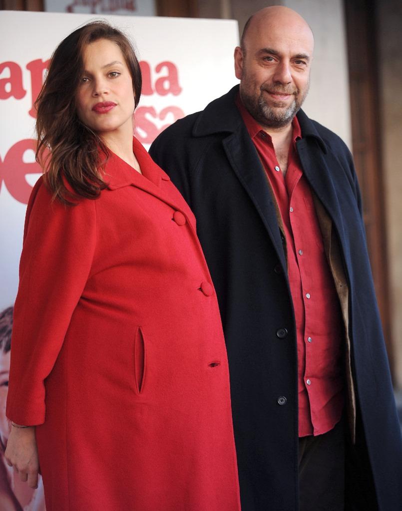 Micaela Ramazzotti and Paolo Virzì at an event for La prima cosa bella (2010)
