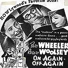 Marjorie Lord, Bert Wheeler, and Robert Woolsey in On Again-Off Again (1937)