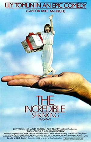 The Incredible Shrinking Woman Poster Image
