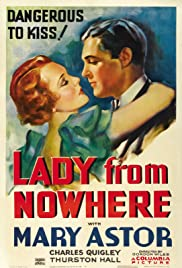 Lady from Nowhere Poster