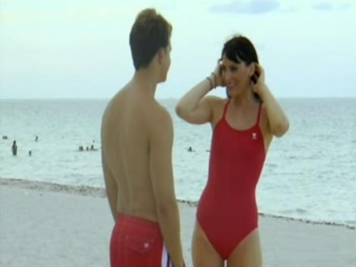 Graham Purdy and Christina Galioto in Beach Heat Miami (2010)