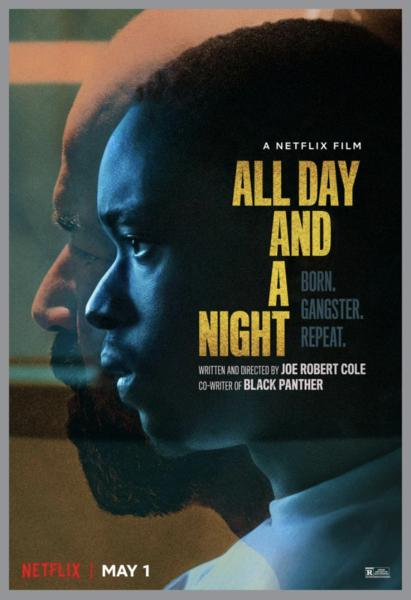 Jeffrey Wright and Ashton Sanders in All Day and a Night (2020)