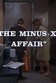 The Minus-X Affair Poster