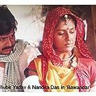 Nandita Das and Raghuvir Yadav in Bawandar (2000)