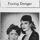 Stephanie Bachelor and Eva Moore in Scotland Yard Investigator (1945)