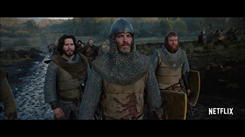 The untold, true story of Robert The Bruce (Chris Pine) who transformed from defeated nobleman, to reluctant King, to outlaw hero over the course of a year. Forced into battle in order to save his family, his people and his country from the oppressive English occupation of medieval Scotland, Robert seizes the Scottish crown and rallies a ragtag group of men to face off against the wrath of the world's strongest army lead by the ferocious King Edward I and his volatile son, the Prince of Wales.