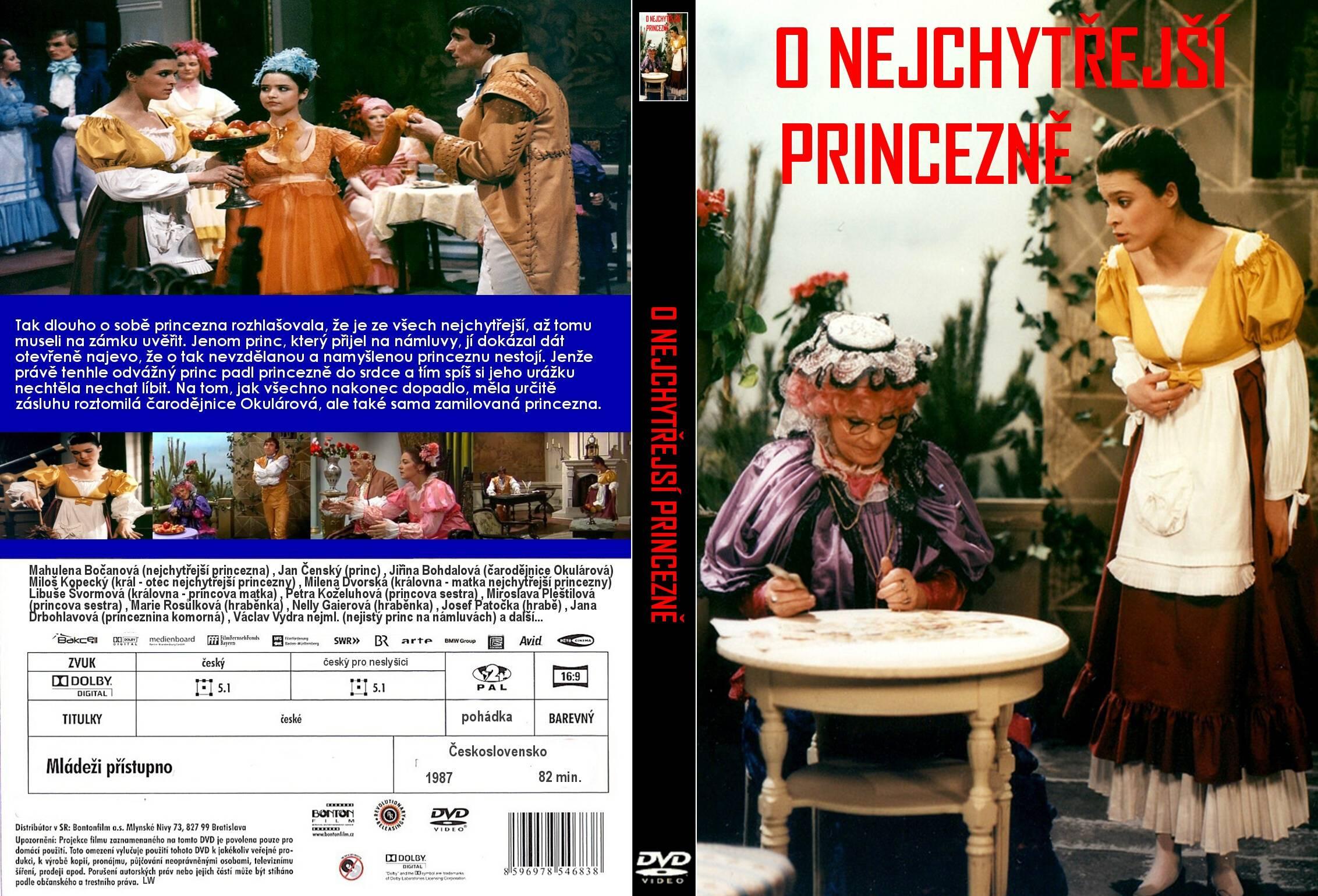 Mahulena Bocanová and Jirina Bohdalová in O nejchytrejsí princezne (1987)