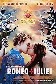 Claire Danes, Leonardo DiCaprio, John Leguizamo, Jamie Kennedy, Dash Mihok, and Harold Perrineau in Romeo + Juliet (1996)