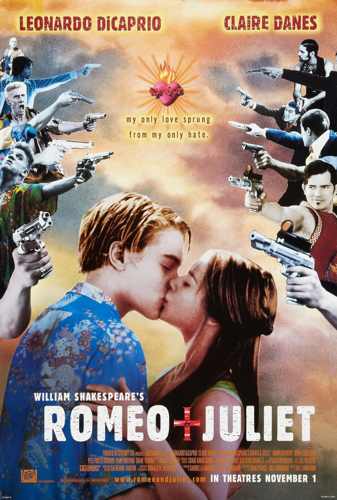 Romeo + Juliet (1996) BluRay 480p, 720p & 1080p