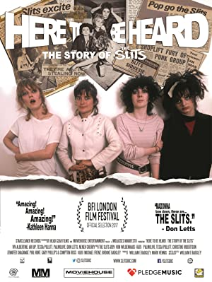 Where to stream Here to Be Heard: The Story of the Slits