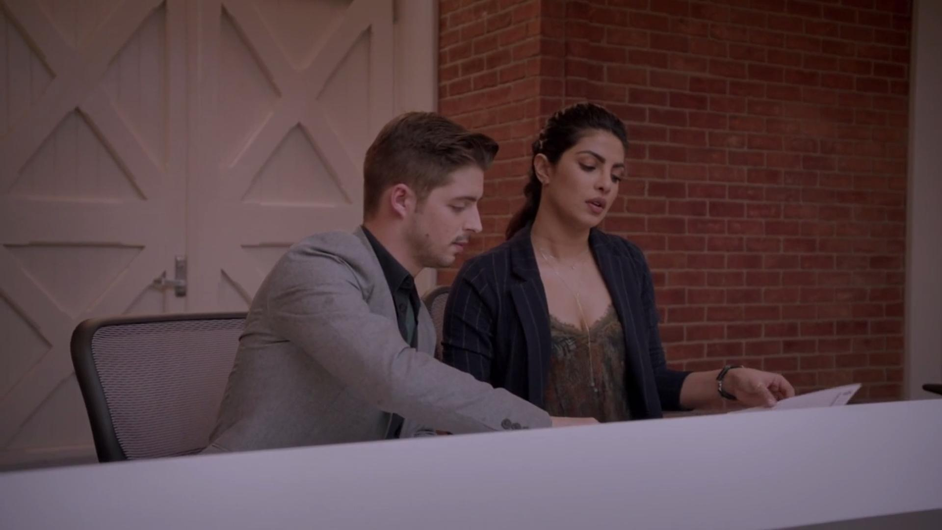 Priyanka Chopra Jonas and Billy Peck in Quantico (2015)