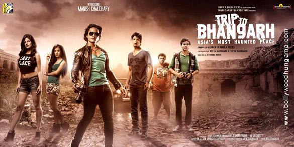 Manish Chaudhary, Suzanna Mukherjee, Parree Pande, Piyush Raina, Rachit Behl, and Rohit Chaudhary in Trip to Bhangarh: Asia's Most Haunted Place (2014)