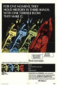 Richard Burton and Alain Delon in The Assassination of Trotsky (1972)