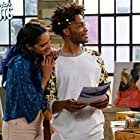Jermaine Fowler and Shamikah Martinez in Superior Donuts (2017)