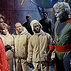 Wilbert Bradley, Ombretta Colli, Goffredo Unger, Furio Meniconi, and Giacomo Rossi Stuart in La morte viene dal pianeta Aytin (1967)