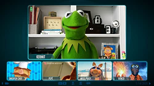 """In preparation for the world premiere of the Muppets' first-ever streaming show, """"Muppets Now,""""  Kermit the Frog will conduct a video chat to break the news that Disney+ has ordered six half-hour muppisodes premiering July 31. With a full roster of rotating guest stars, world-class production facilities, and pure unscripted mayhem, """"Muppets Now"""" breaks new ground for the gang in their Disney+ debut."""
