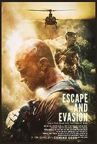 Hugh Sheridan, Josh McConville, and Bonnie Sveen in Escape and Evasion (2019)