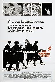 The Kremlin Letter (1970) Poster - Movie Forum, Cast, Reviews