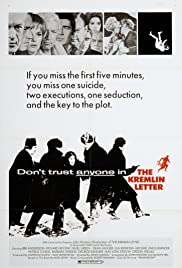 The Kremlin Letter (1970) Poster - Movie Forum, Cast, Reviews