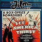 Harry Langdon, Bessie Love, and Slim Summerville in See America Thirst (1930)